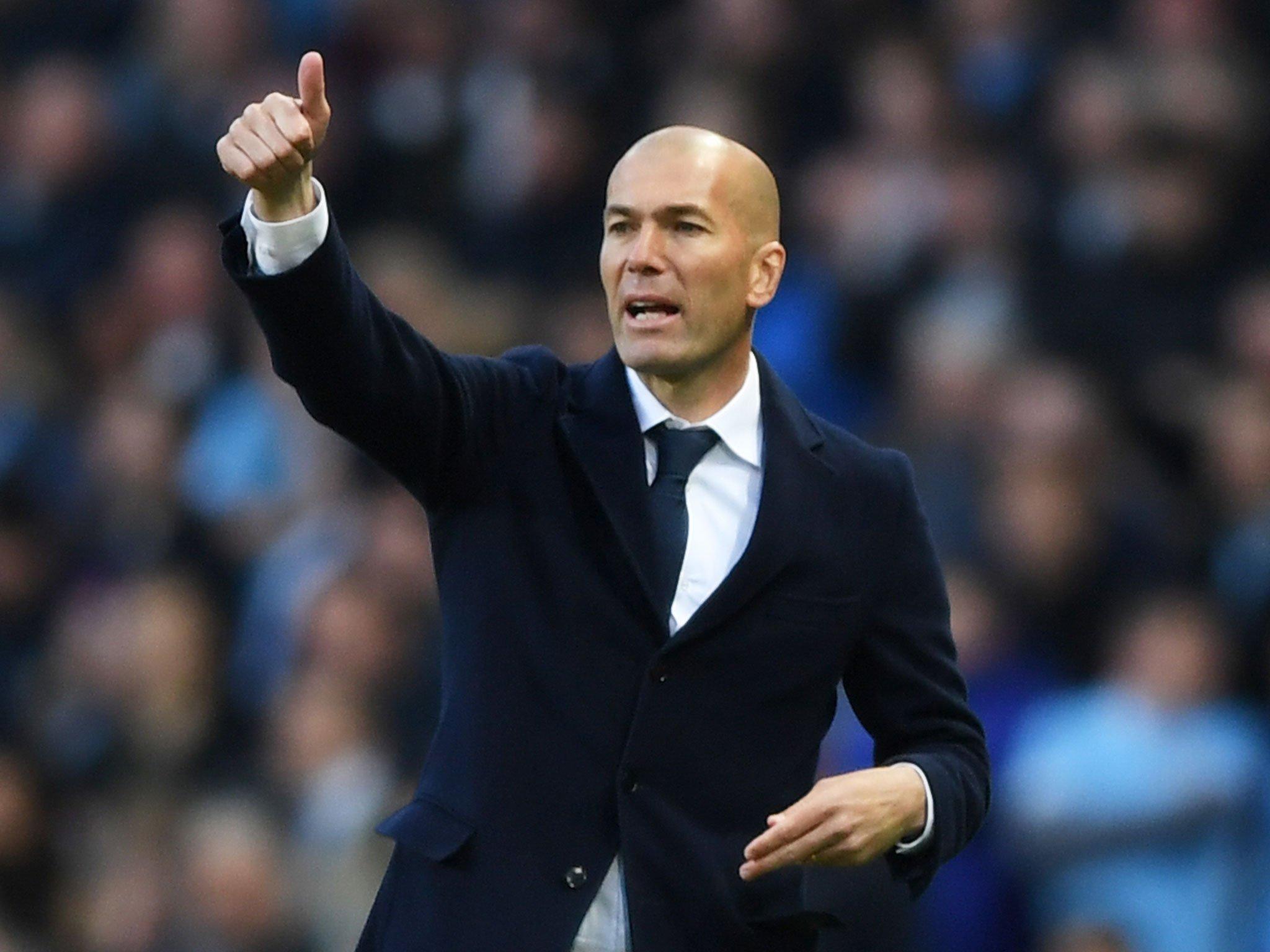 استقالة زيدان المدير الفني لنادي ريال مدريد
