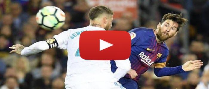 نتيجة مباراة برشلونة وريال مدريد اليوم 6/2/2019 التعادل الايجابي للفريقين خلال مباراة اليوم