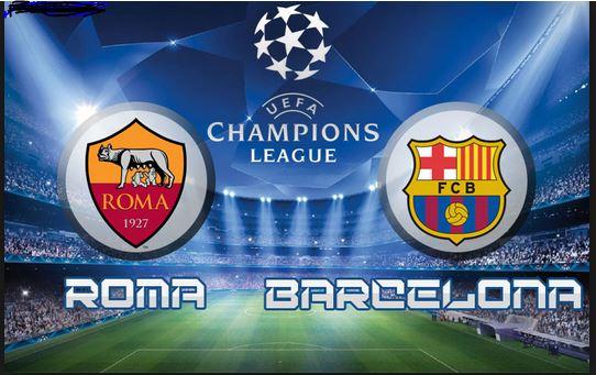 موعد مباراة برشلونة وروما