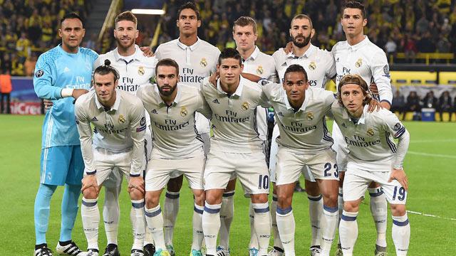 تشكيلة ريال مدريد الرسمية لمباراة غرناطة بالدوري الأسباني