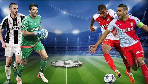 موعد مباراة يوفنتوس مع موناكو في دوري أبطال أوروبا والقنوات الناقلة