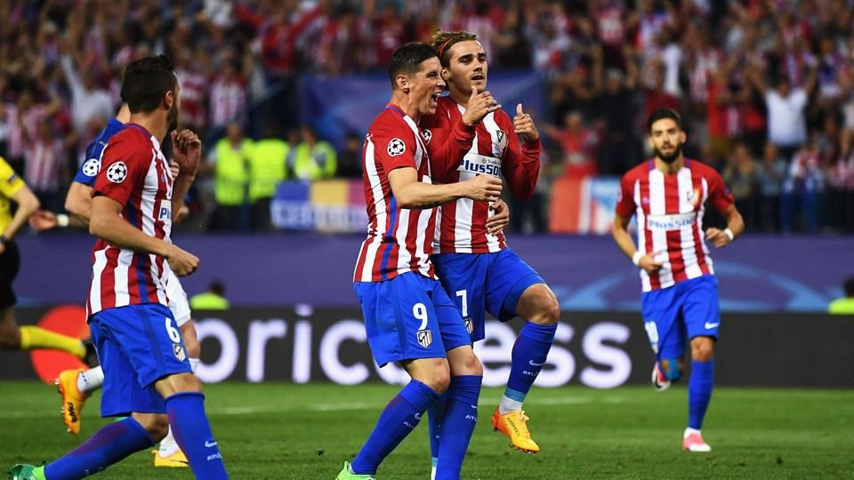 اتليتكو مدريد يطيح ليستر سيتي من ربع نهائي دوري أبطال أوروبا