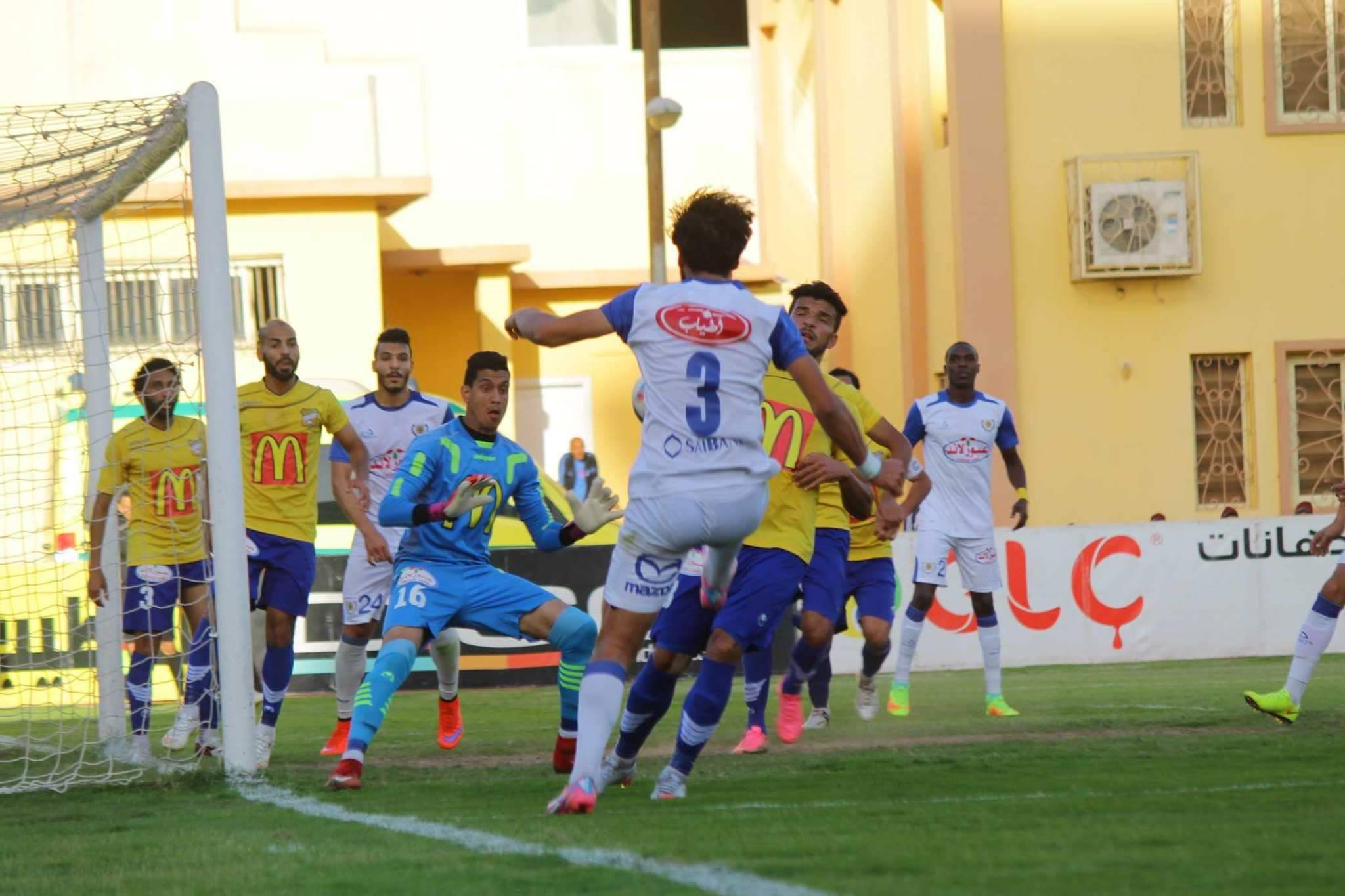 صورة من مباراة الاسماعيلي وطنطا