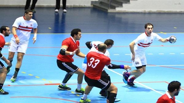الزمالك يتفوق علي الأهلي في دوري كرة اليد