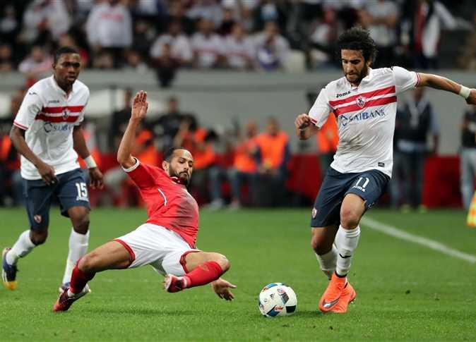 صورة من مباراة السوبر المصرى
