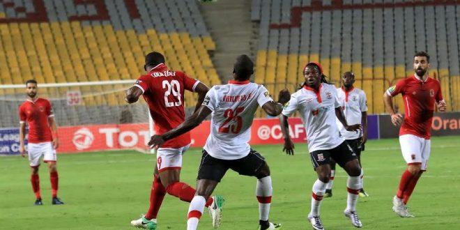 صورة من مباراة زاناكو والأهلي