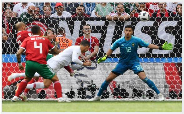كريستيانو رونالدو يحطم الرقم القياسي في مباراة المغرب والبرتغال