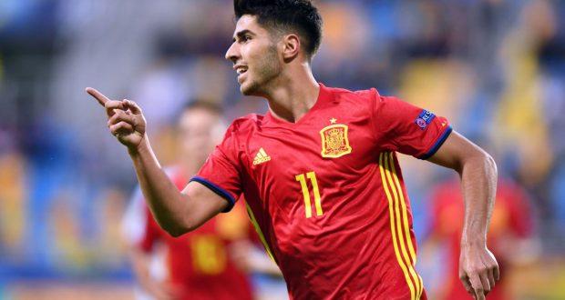 نجم ريال مدريد يقود أسبانيا لفوز كبير