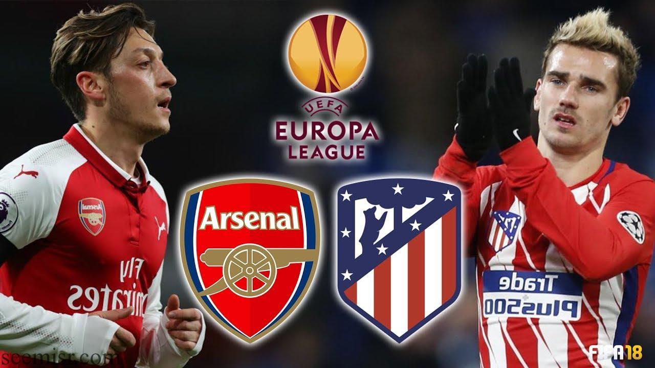 موعد مباراة أرسنال وأتلتيكو مدريد