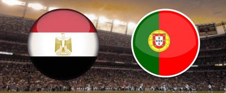 مباراة مصر والبرتغال
