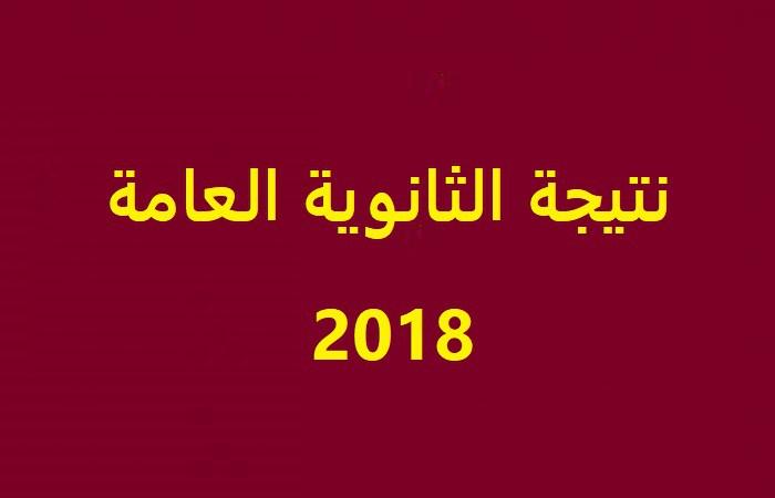 موقع بوابة الثانوية العامة تعلن نتيجة الثانوية العامة 2018 الترم الثاني برقم الجلوس