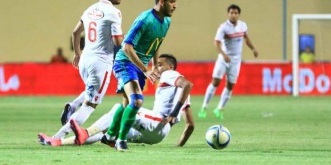 هشام محمد لاعب مصر المقاصة