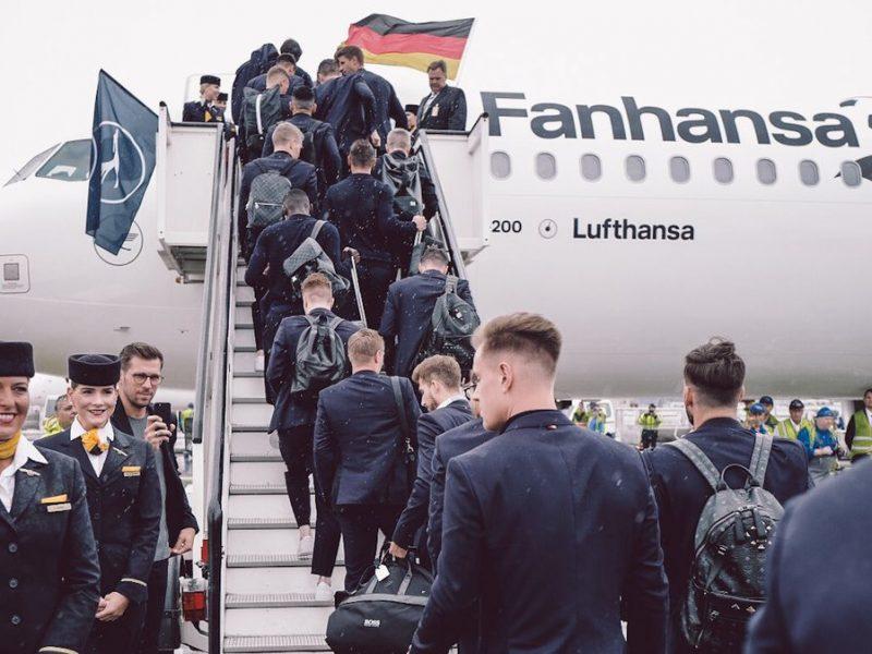 منتخب ألمانيا يطير إلى روسيا للدفاع عن لقب كأس العالم