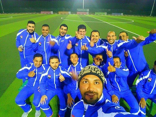 فريق مصري يلعب على الأراضي السعودية