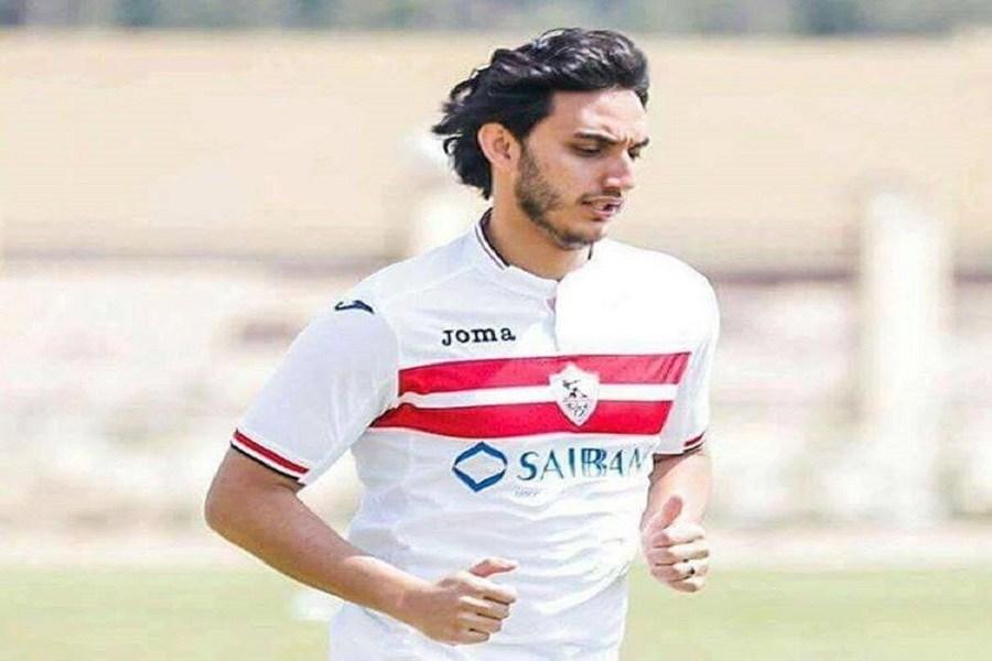 محمد مجدى لاعب الزمالك