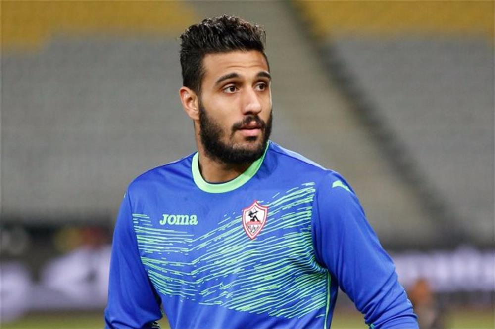 """احمد الشناوي """"حارس مرمي الزمالك"""