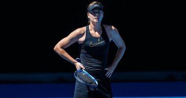 شارابوفا الروسية تصعد لربع نهائى رولان جاروس لكرة التنس بعد انسحاب سيرينا وليامز