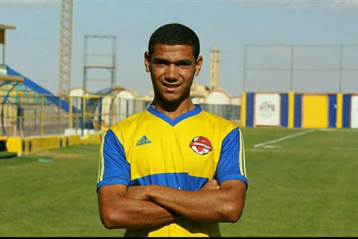اللاعب حسام غانم