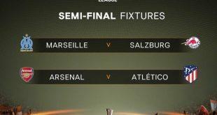 قرعة الدوري الأوروبي نصف النهائي