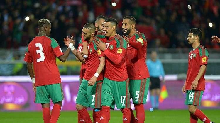 مباراة المغرب و آوزبكستان