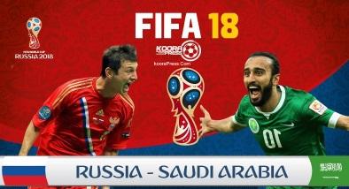 اعرف الان .. موعد مباراة السعودية وروسيا في افتتاح كأس العالم يوم الخميس 14/6/2018 والقنوات الناقلة