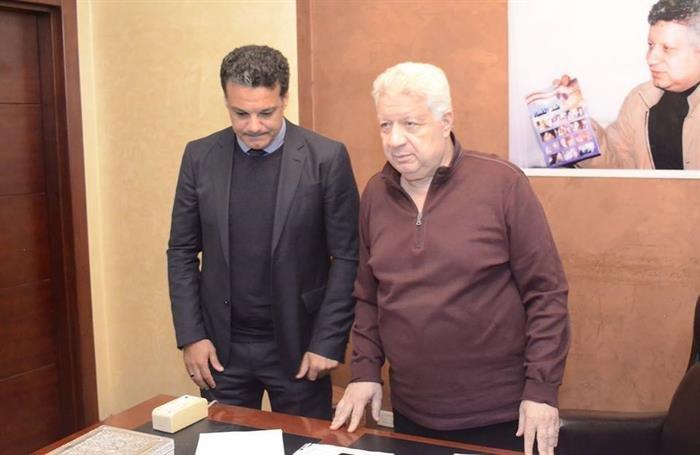"""مرتضى منصور : """"لإيهاب جلال"""" متلعبش مع الأسد"""