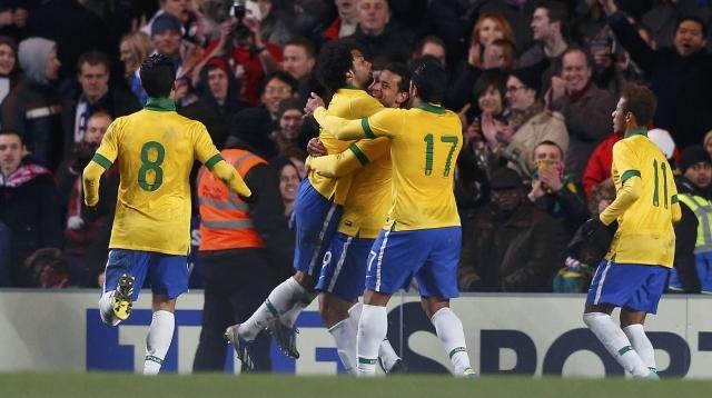المباراة الودية بين البرازيل فى مواجهة روسيا استعدادا لمونديال كاس العالم 2018