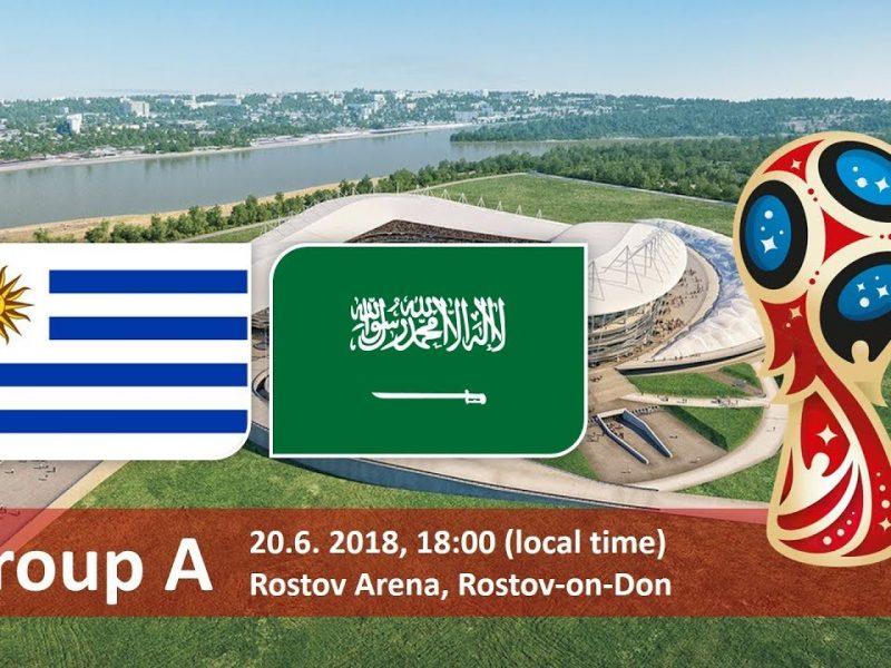 القنوات الناقلة لمباراة السعودية واوروجواي يوم 20/6/2018 في مباريات كأس العالم 2018