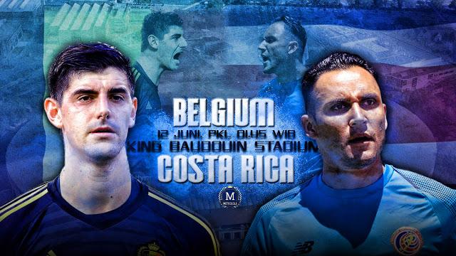 بلجيكا يسحق كوستاريكا  .. فوز بلجيكا 1/4 علي كوستاريكا خلال مباراة اليوم